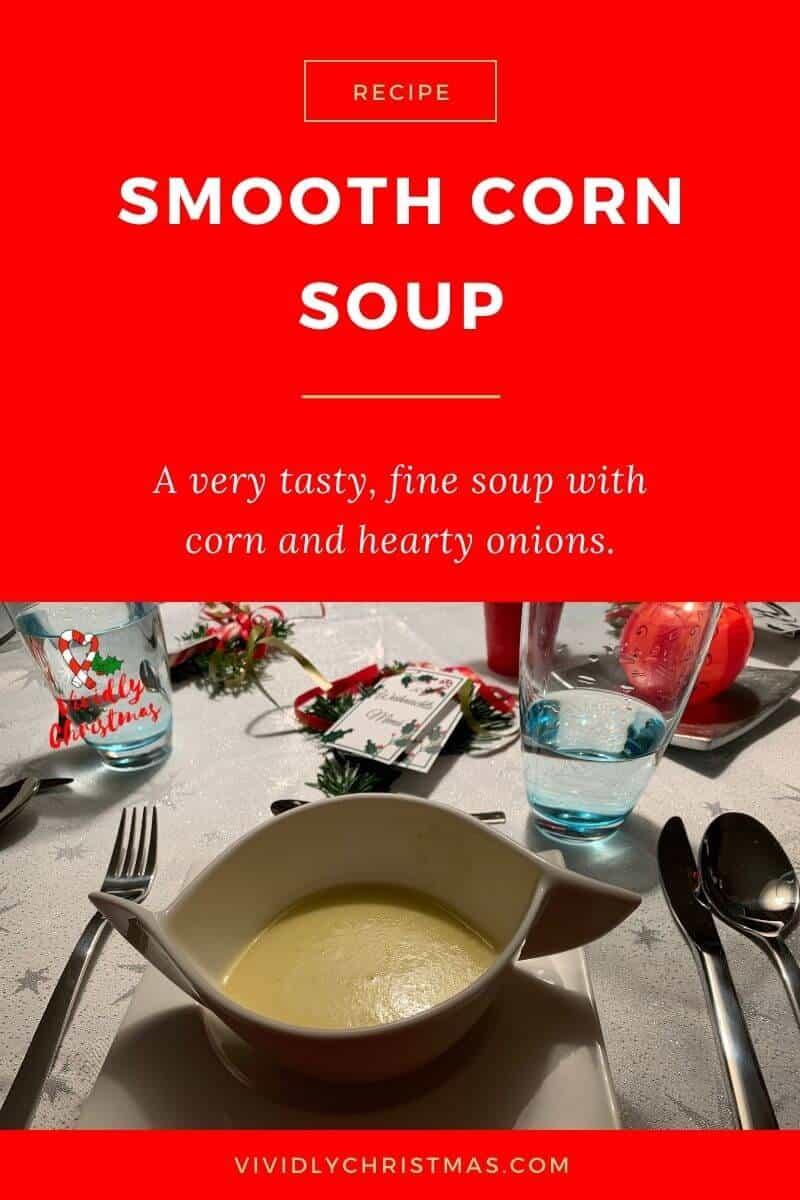 Smooth Corn Soup
